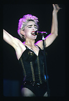 Madonna performs at Soldier Field in Chicago, Illinois on August 19, 1987. <br /> CAP/MPI/GA<br /> &copy;GA/MPI/Capital Pictures