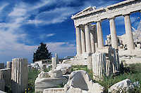 Acropolis of Athens, Athen, Greece, April 1998