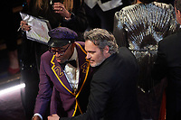 Spike Lee and Oscar® nominee, Joaquin Phoenix at The 92nd Oscars® at the Dolby® Theatre in Hollywood, CA on Sunday, February 9, 2020.<br /> *Editorial Use Only*<br /> CAP/AMPAS<br /> Supplied by Capital Pictures