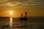 SUNRISE ON CASCO BAY, MAINE
