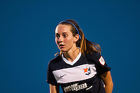 Sky Blue FC midfielder Katy Freels (Frierson) (17). Sky Blue FC defeated the Washington Spirit 1-0 during a National Women's Soccer League (NWSL) match at Yurcak Field in Piscataway, NJ, on July 6, 2013.
