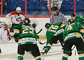 Brooks, AB - May 11 2019 - Ottawa Jr Senators vs. Portage Terriers during the 2019 National Junior A Championship at the Centennial Regional Arena in Brooks, Alberta, Canada (Photo: Matthew Murnaghan/Hockey Canada)