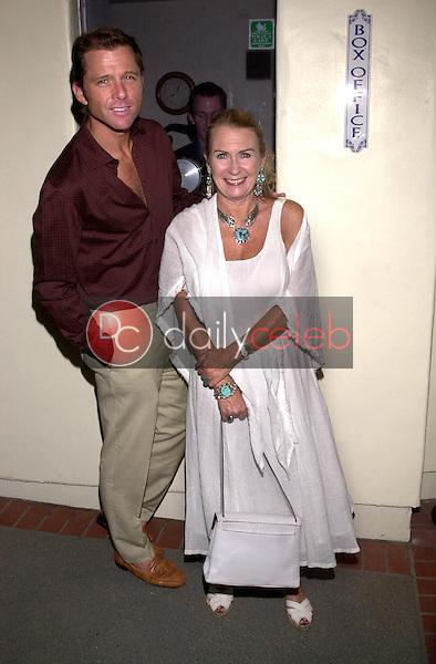 Maxwell Caulfield and Juliette Mills