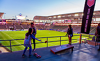 Carson, CA - Sunday January 28, 2018: U.S. Soccer Fan HQ during an international friendly between the men's national teams of the United States (USA) and Bosnia and Herzegovina (BIH) at the StubHub Center.