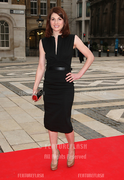 Jodie Whittaker arriving for the Women for Women Gala held at the Guildhall, London. 03/05/2012 Picture by: Henry Harris / Featureflash