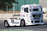 Czech driver Frantisek Vojtisek belonging Czech team Czech Truck Racing Team during the super pole SP1 of the XXX Spain GP Camion of the FIA European Truck Racing Championship 2016 in Madrid. October 01, 2016. (ALTERPHOTOS/Rodrigo Jimenez)