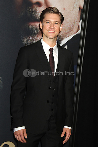 NEW YORK, NY - DECEMBER 10: Aaron Tveit at the 'Les Miserables' New York premiere at Ziegfeld Theatre on December 10, 2012 in New York City. Credit RW/MediaPunch Inc,