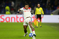 Memphis Depay of Lyon just manages to keep the ball in play during Lyon vs Manchester City, UEFA Champions League Football at Groupama Stadium on 27th November 2018