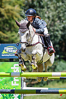 NZL-Katie Bridgeman rides Tallyho Scoundrel. Class 24 Country TV Pony Premier Grand Prix. 2020 NZL-Collinson Forex Premier Show Jumping At Woodhill Sands. Helensville. Sunday 12 January. Copyright Photo: Libby Law Photography