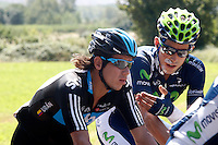 Imanol Erviti (r) and Rigoberto Uran during the stage of La Vuelta 2012 between Logroño and Logroño.August 22,2012. (ALTERPHOTOS/Paola Otero) /NortePhoto.com<br /> <br /> **SOLO*VENTA*EN*MEXICO**<br /> **CREDITO*OBLIGATORIO**<br /> *No*Venta*A*Terceros*<br /> *No*Sale*So*third*<br /> *** No Se Permite Hacer Archivo**<br /> *No*Sale*So*third*
