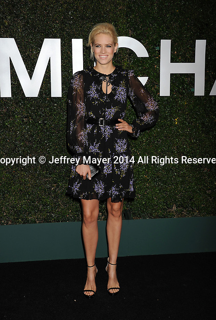 BEVERLY HILLS, CA- OCTOBER 02: Actress Cody Horn arrives at the Michael Kors Hosts Launch Of Claiborne Swanson Frank's 'Young Hollywood' Portrait Book at a private residence on October 2, 2014 in Beverly Hills, California.