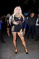 LONDON, ENGLAND - NOVEMBER 09 :  Nevaeh Heaven attends The Paul Raymond Awards 2017, at the Cafe de Paris on November 09, 2017 in London, England.<br /> CAP/AH<br /> &copy;Adam Houghton/Capital Pictures