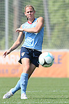26 April 2008: Christie Rampone. The United States Women's National Team held a training session on Field 3 at WakeMed Soccer Park in Cary, NC.