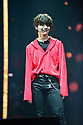 CORAL GABLES, FL - FEBRUARY 07: Hyunjin, of South Korean Boy band Stray Kids performs on stage during Stray Kids World Tour 'District 9 : Unlock' in Miami at Watsco Center on February 7, 2020 in Coral Gables, Florida. ( Photo by Johnny Louis / jlnphotography.com )