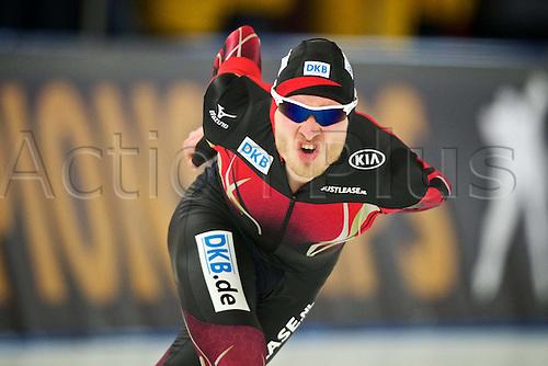 05.03.2016. Berlin Germany. World Championships of Speed skating. 5000 men Patrick Beckert ger