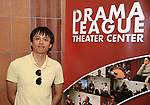 Wen Chen from Central Academy of Drama: Professors Visits The Drama League on September 22, 2017 at the Drama League Center  in New York City.