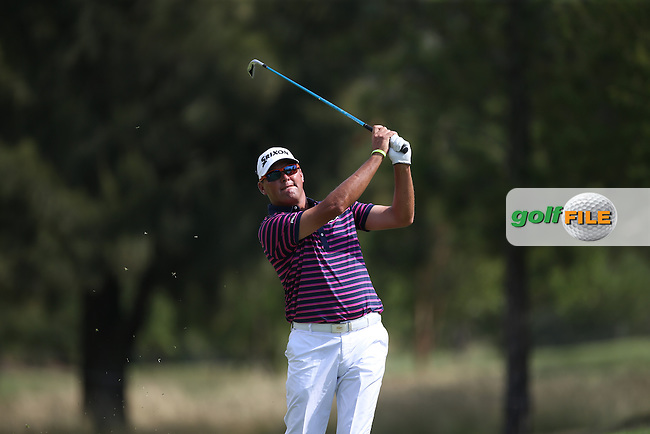 Wallie Coetsee (RSA) plays second shot to the 11th during Round Two of the Tshwane Open 2015 at the Pretoria Country Club, Waterkloof, Pretoria, South Africa. Picture:  David Lloyd / www.golffile.ie. 13/03/2015