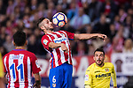 Jorge Resurreccion Merodio, Koke of Atletico de Madrid  during the La Liga match between Atletico de Madrid vs Villarreal CF at the Estadio Vicente Calderon on 25 April 2017 in Madrid, Spain. Photo by Diego Gonzalez Souto / Power Sport Images