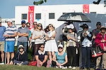 Spectators during the 58th UBS Hong Kong Golf Open as part of the European Tour on 11 December 2016, at the Hong Kong Golf Club, Fanling, Hong Kong, China. Photo by Marcio Rodrigo Machado / Power Sport Images