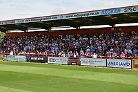 Stevenage Fans during Stevenage vs Tranmere Rovers, Sky Bet EFL League 2 Football at the Lamex Stadium on 4th August 2018