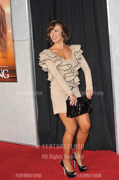 """Karina Smirnoff at the world premiere of """"The Last Song"""" at the Arclight Theatre, Hollywood..March 25, 2010  Los Angeles, CA.Picture: Paul Smith / Featureflash"""