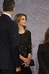 Queen Letizia of Spain attends 'In Memoriam' concert in honor of March 11, 2004 terrorist attack in Atocha, in Madrid, Spain. March 12, 2015. (ALTERPHOTOS/Victor Blanco)