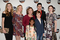 PASADENA, CA - JANUARY 8: Roseanne Cast at Disney ABC Television Group's TCA Winter Press Tour 2018 at the Langham Hotel in Pasadena, California on January 8, 2018. <br /> CAP/MPI/DE<br /> &copy;DE/MPI/Capital Pictures