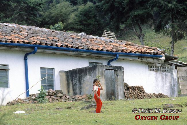 Young Girl At Finca