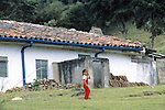 Young Girl At Finca