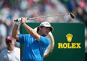 20.07.2014. Hoylake, England. The Open Golf Championship, Final Round. Brian Harman [USA] from the tee