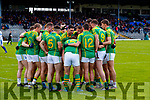 The South Kerry team before their clash with Kerins O'Rahillys in the Kerry Senior Football Championship Semi Final at Fitzgerald Stadium on Saturday.