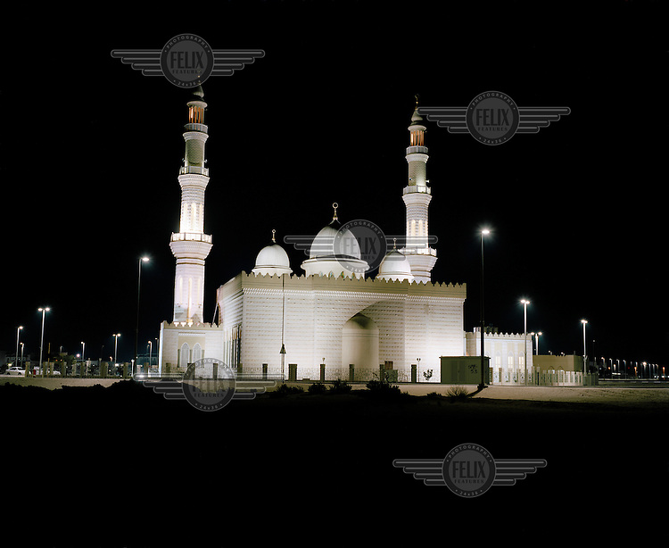 Mosque at night..