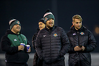 Ealing Trailfinders staff ahead of the Championship Cup match between London Scottish Football Club and Ealing Trailfinders at Richmond Athletic Ground, Richmond, United Kingdom on 23 November 2018. Photo by David Horn/PRiME Media Images