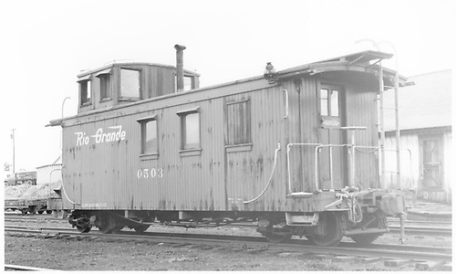 Long caboose #0503<br /> D&amp;RGW