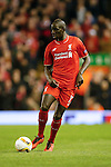 Mamadou Sakho of Liverpool during the UEFA Europa League match at Anfield. Photo credit should read: Philip Oldham/Sportimage