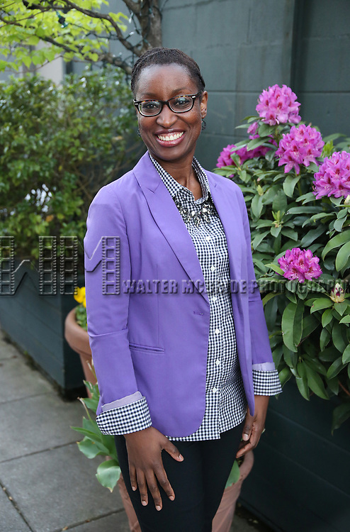 Martine Sainvil attends The Drama League: Meet The Directing Fellows Hosted By Stewart F. Lane & Bonnie Comley at a private residence on May 15, 2017 in New York City.