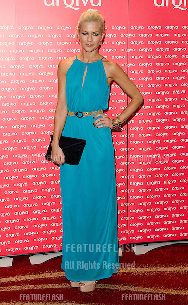 Kate Lawler arriving for The Commercial Radio Awards held at the Park Plaza Hotel in London. 06/07/2011. Picture by: Simon Burchell / Featureflash