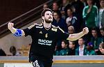 Stockholm 2014-09-26 Handboll Elitserien Hammarby IF - Ricoh HK :  <br /> Ricohs Tandri Mar Konradsson jublar efter ett av sina m&aring;l i matchen mot Hammarby<br /> (Foto: Kenta J&ouml;nsson) Nyckelord:  Eriksdalshallen Hammarby HIF HeIF Bajen Ricoh HK RHK jubel gl&auml;dje lycka glad happy