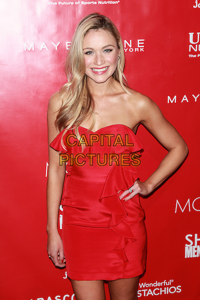 New York, NY- January 31: Katrina Bowden at Shape &amp; Men's Fitness Kickoff Party at Cipriani 42nd Street on January 31, 2014 in New York City.  <br /> CAP/MPI/COR<br /> &copy;Corredor99/ MediaPunch/Capital Pictures
