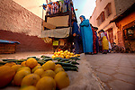 "Marrakech or Marrakesh, known as the ""Red City"", is the most important former imperial city in Morocco's history. The city of Marrakesh is the capital of the mid-southwestern economic region of Marrakech-Tensift-Al Haouz, near the foothills of the snow-capped Atlas Mountains..Like many North African cities, the city of Marrakesh comprises both an old fortified city (the médina) and an adjacent modern city (called Gueliz) for a total population of 1,070,000. It is served by Ménara International Airport (IATE code: RAK) and a rail link to Casablanca and the north..Marrakech has the largest traditional market (souk) in Morocco and also has one of the busiest squares in Africa and the world, Djemaa el Fna. The square bustles with acrobats, story-tellers, water sellers, dancers and musicians. By night food stalls open in the square turning it into a huge busy open-air restaurant..Morocco, is a country located in North Africa. It has a population of nearly 33 million and an area of 710,850 km?, and also primarily administrates the disputed region of the Western Sahara..Morocco is a de jure constitutional monarchy with an elected parliament. The King of Morocco holds vast executive powers, including dissolving parliament at will."