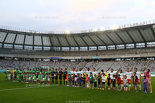 General View, OCTOBER 4, 2015 - Football / Soccer : 2015 J2 League match between Tokyo Verdy 0-2 Consadole Sapporo at Ajinomoto Stadium, Tokyo, Japan. (Photo by Shingo Ito/AFLO SPORT)