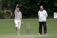 Charles El-Nemer of Crouch End during Crouch End CC (fielding) vs Waltham CC, ECB National Club Championship Cricket at The Calthorpe Ground on 9th June 2019