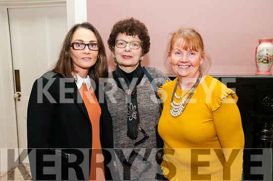 Attending the Kerry Women's Business Network meeting held at the  Butler Centre, Listowel  on Wednesday 23rd Niovember were Carol Wren Guiney, Margaret Reidy & Patricia Wren.