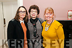 Attending the Kerry Women's Business Network meeting held at the  Butler Centre, Listowel  on Wednesday 23rd Niovember were Carol Wren Guiney, Margaret Reidy & Patricia Wren.