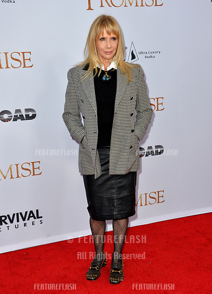 Rosanna Arquette at the premiere for &quot;The Promise&quot; at the TCL Chinese Theatre, Hollywood. Los Angeles, USA 12 April  2017<br /> Picture: Paul Smith/Featureflash/SilverHub 0208 004 5359 sales@silverhubmedia.com