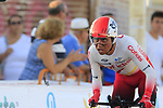 Cofidis including Jhon Darwin Atapuma Hurtado (COL) in action during Stage 1 of La Vuelta 2019, a team time trial running 13.4km from Salinas de Torrevieja to Torrevieja, Spain. 24th August 2019.<br /> Picture: Eoin Clarke | Cyclefile<br /> <br /> All photos usage must carry mandatory copyright credit (© Cyclefile | Eoin Clarke)