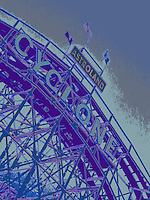 Cyclone Roller-coaster in Coney Island