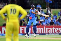 India's batsman Shubham Gill in action while batting during the ICC U-19 Cricket World Cup 2018 Finals between India v Australia, Bay Oval, Tauranga, Saturday 03rd February 2018. Copyright Photo: Raghavan Venugopal / © www.Photosport.nz 2018 © SWpix.com (t/a Photography Hub Ltd)