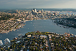 Aerial views of Seattle