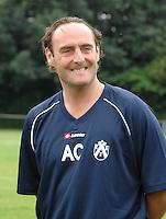 KV Kortrijk eerste training..Yves Vanderhaeghe...fotos DAVID CATRY/VDB